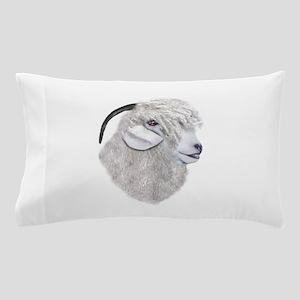 Angora Goat Portrait Pillow Case