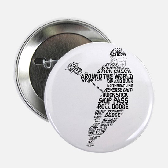 "Lacrosse LAX Player 2.25"" Button"