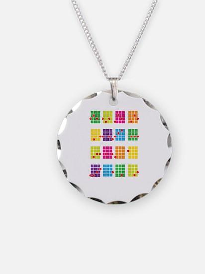 Uke Chords Colourful Necklace