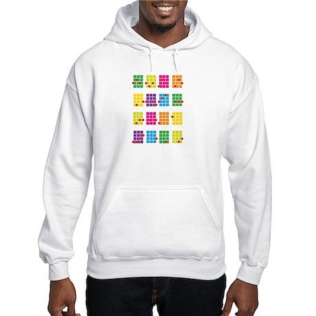 Uke Chords Colourful Hooded Sweatshirt