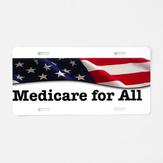 Cute Health care Aluminum License Plate