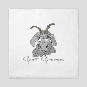Goat Gramps Queen Duvet