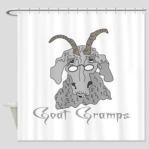 Goat Gramps Shower Curtain