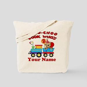 2nd Birthday Train Tote Bag
