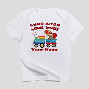 2nd Birthday Train Infant T Shirt