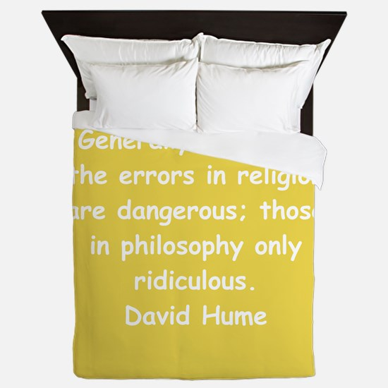 david hume Queen Duvet