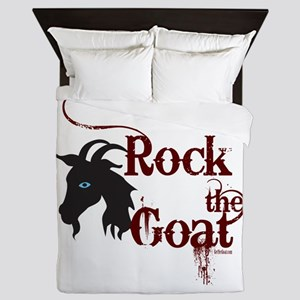 Rock the Goat Queen Duvet