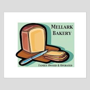 Mallerk Bakery Small Poster