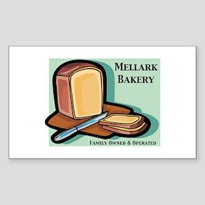 Mallerk Bakery Sticker (Rectangle)