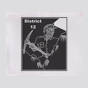 District 12 Throw Blanket