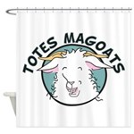 Totes MaGoats Shower Curtain