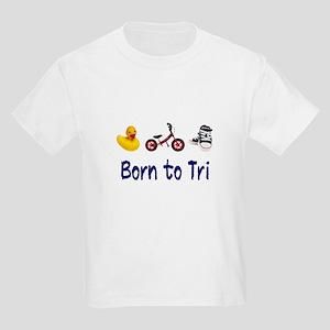 Born to Tri Kids Light T-Shirt