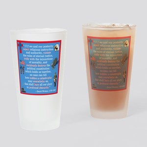 Daniel Webster Quote Drinking Glass