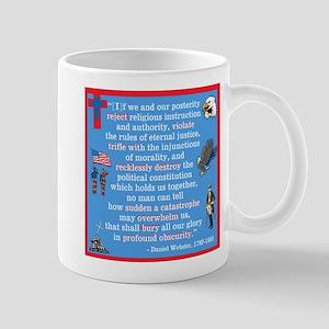 Daniel Webster Quote Mug