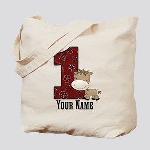 First Birthday Horse Tote Bag