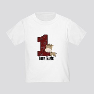 First Birthday Horse Toddler T-Shirt