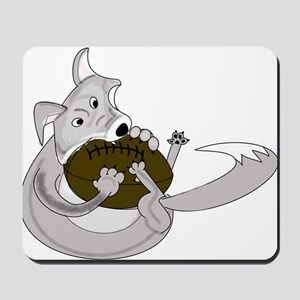 The Silver Fox Mousepad