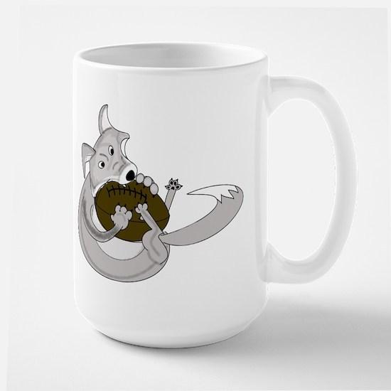 The Silver Fox Large Mug