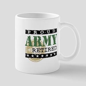 Proud Army Retired Mug