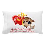 Goat Heart Pillow Case