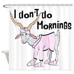 Morning Goat Shower Curtain
