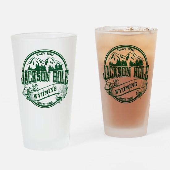 Jackson Hole Old Circle 2 Drinking Glass