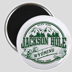 Jackson Hole Old Circle Magnet