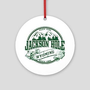 Jackson Hole Old Circle 2 Ornament (Round)