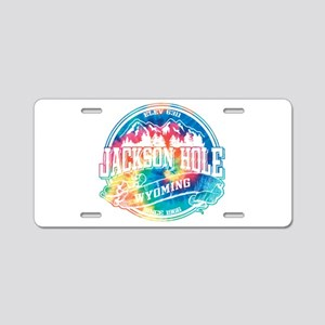 Jackson Hole Old Circle 2 Aluminum License Plate