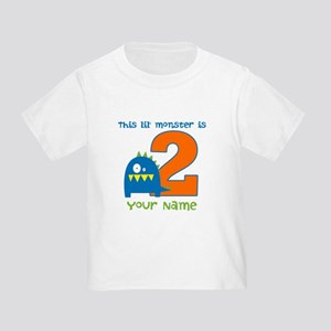 2nd Birthday Monster Toddler T-Shirt