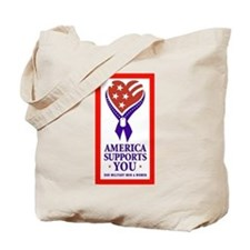 America Supports You Tote Bag