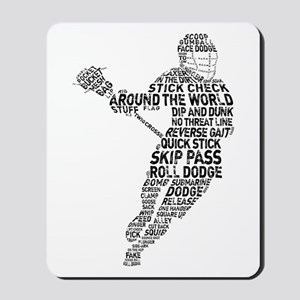 Lacrosse LAX Player Mousepad