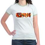 Ukiyo-e - 'Kunisada' Jr. Ringer T-Shirt
