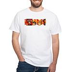 Ukiyo-e - 'Kunisada' White T-Shirt