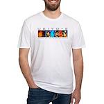 Ukiyo-e - 'Floating World' Fitted T-Shirt