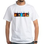 Ukiyo-e - 'Floating World' White T-Shirt