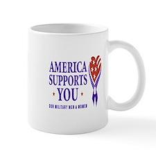 America Supports You Mug