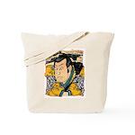 Ukiyo-e - 'Kunisada Head' Tote Bag