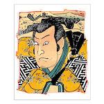 Ukiyo-e - 'Kunisada Head' Small Poster