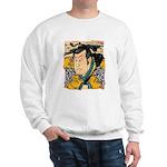Ukiyo-e - 'Kunisada Head' Sweatshirt