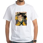 Ukiyo-e - 'Kunisada Head' White T-Shirt