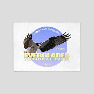 Everglades Osprey 5'x7'Area Rug