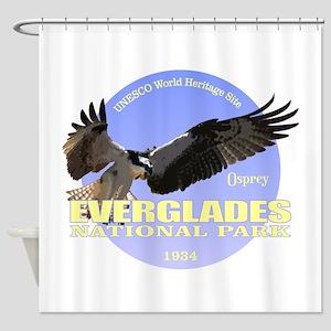 Everglades Osprey Shower Curtain