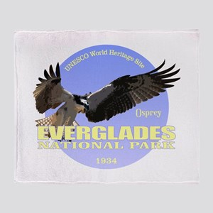 Everglades Osprey Throw Blanket