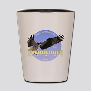 Everglades Osprey Shot Glass