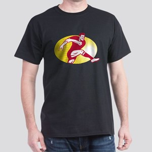 Rugby Kicking Dark T-Shirt