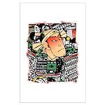 Ukiyo-e - 'Chikashige Head' Large Poster