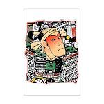 Ukiyo-e - 'Chikashige Head' Mini Poster Print