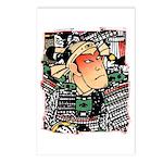 Ukiyo-e - 'Chikashige Head' Postcards (Package of