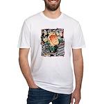 Ukiyo-e - 'Chikashige Head' Fitted T-Shirt